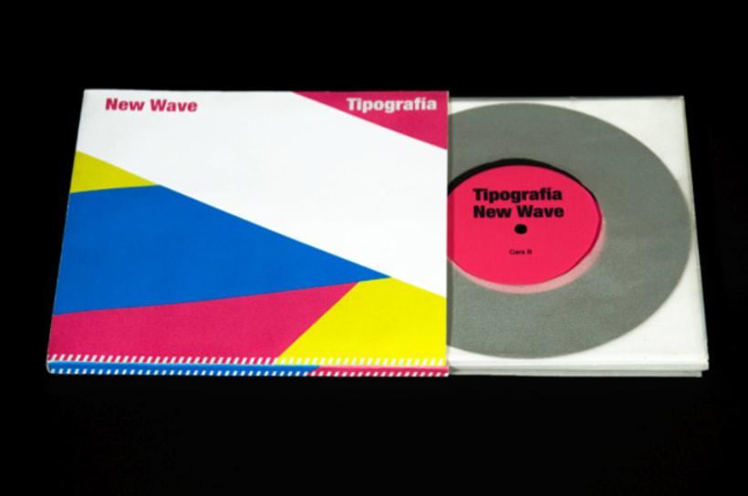 Catálogo de tipografía New Wave 2