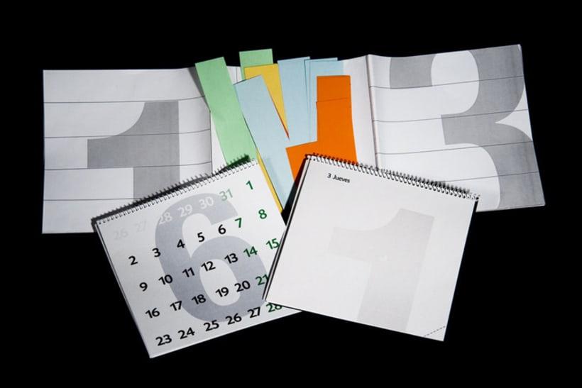 Agenda + Calendario + Poster (Resumen estado de ánimo anual gráfico) 2008 5