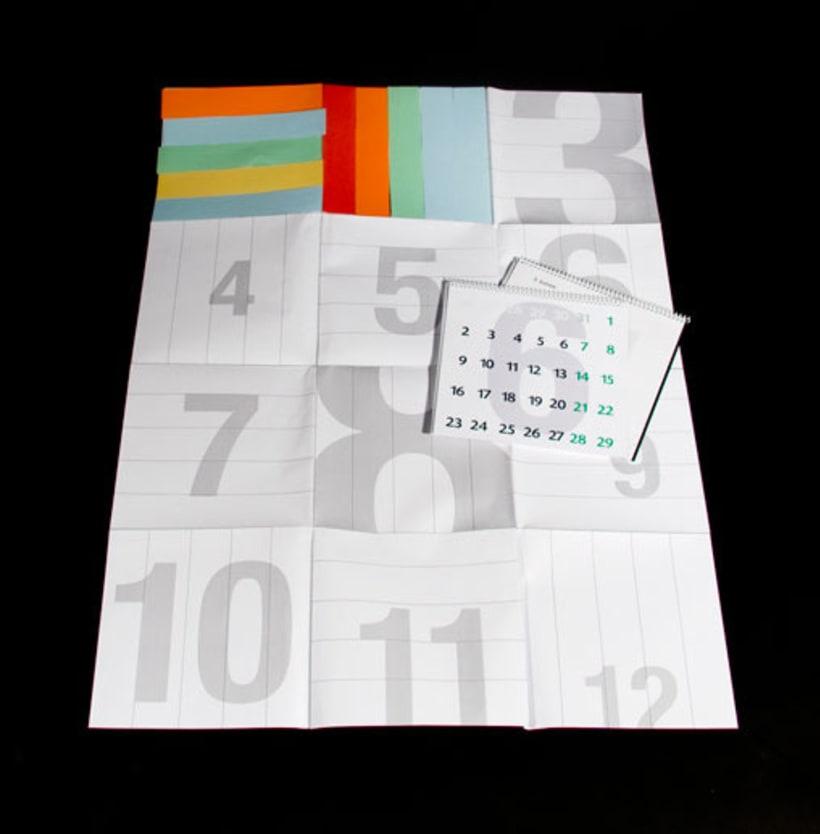 Agenda + Calendario + Poster (Resumen estado de ánimo anual gráfico) 2008 4