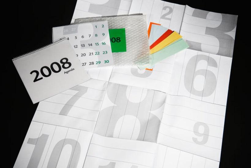 Agenda + Calendario + Poster (Resumen estado de ánimo anual gráfico) 2008 3