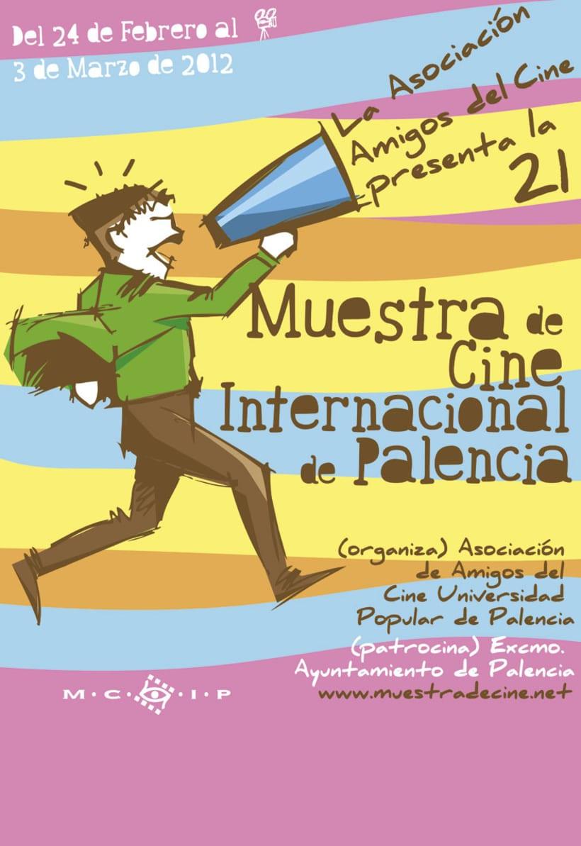Propuesta cartel Muestra de cine de Palencia 1