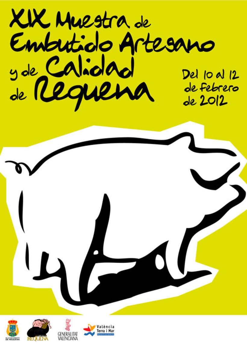 Cartel ganador Feria embutido de Requena 2012 1