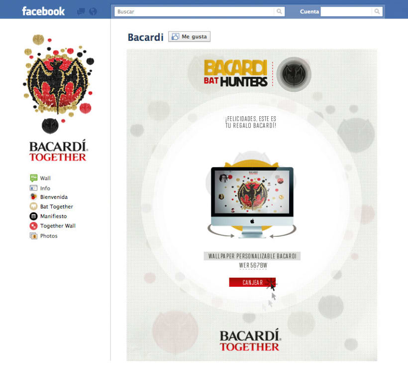 BACARDI BATHUNTER 6