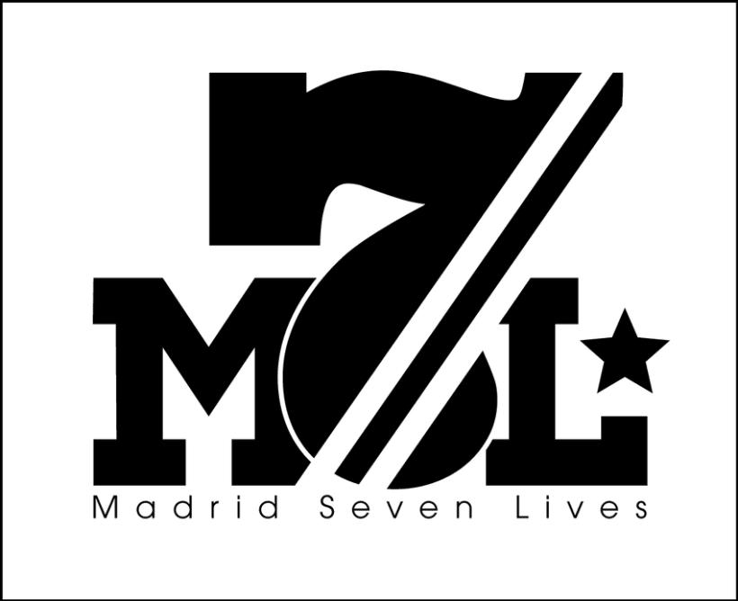 Madrid seven Lives Logo 3