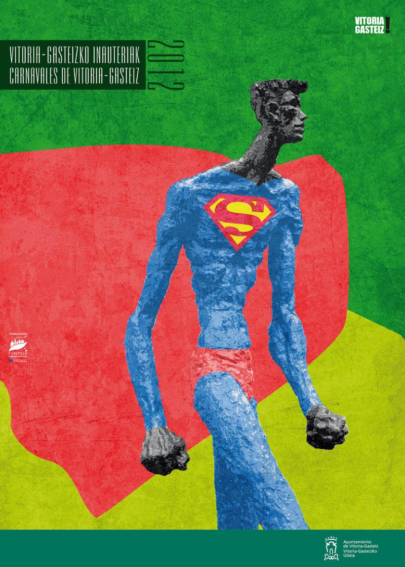 Propuesta de cartel para el Carnaval del Vitoria-Gasteiz 2012 2