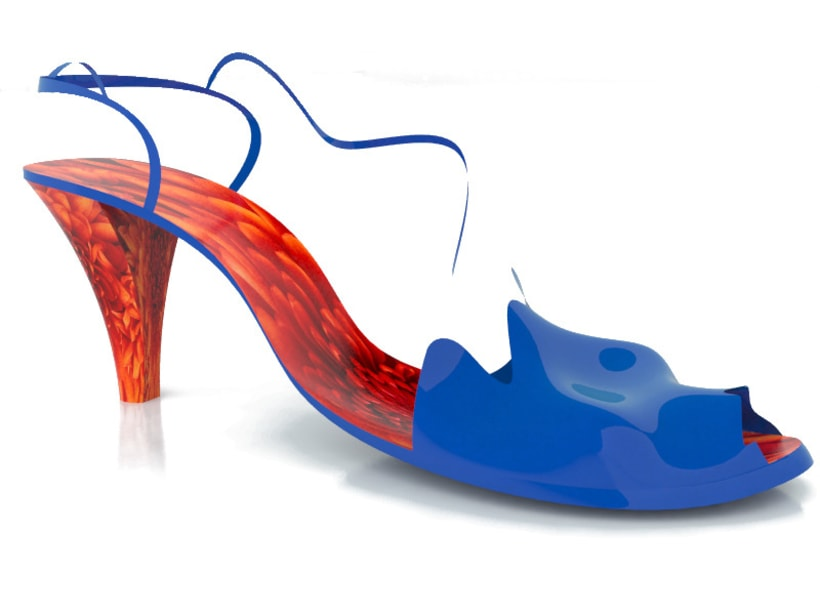 Modelado de sandalia 2