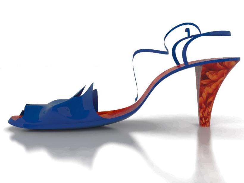 Modelado de sandalia 4