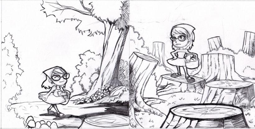 Ilustración 2D 7