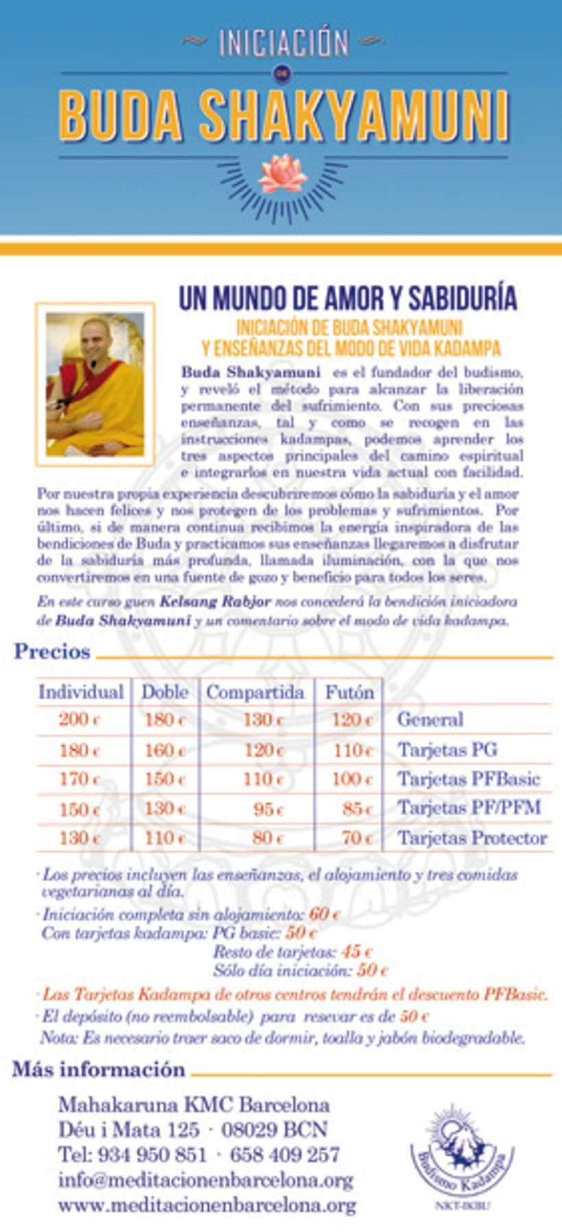 MAHAKARUNA KMC Barcelona Centre de Meditació 2