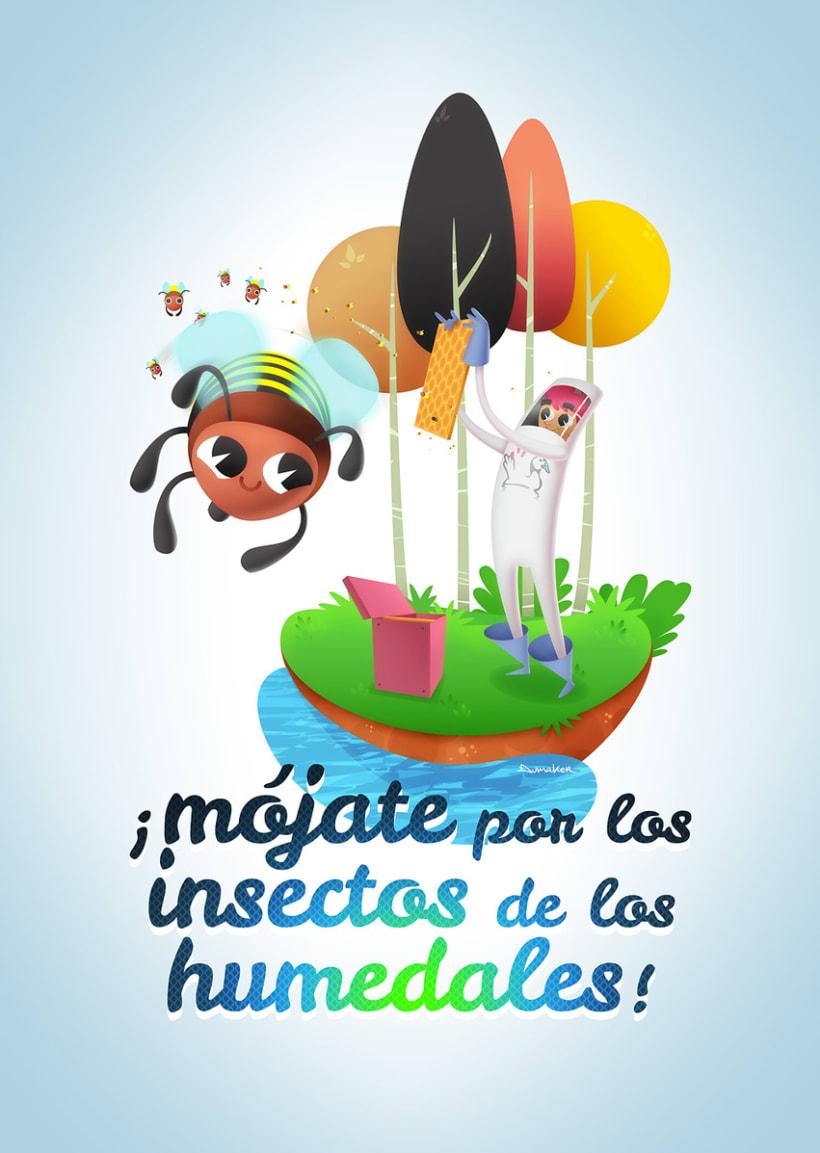 ¡Mójate por los insectos de los Humedales! 2