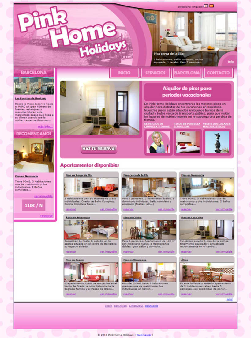 Pink Home Holidays 5