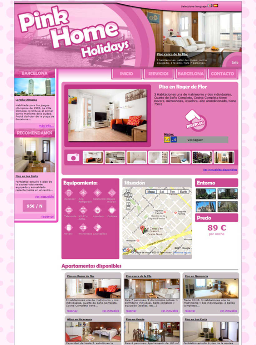Pink Home Holidays 7