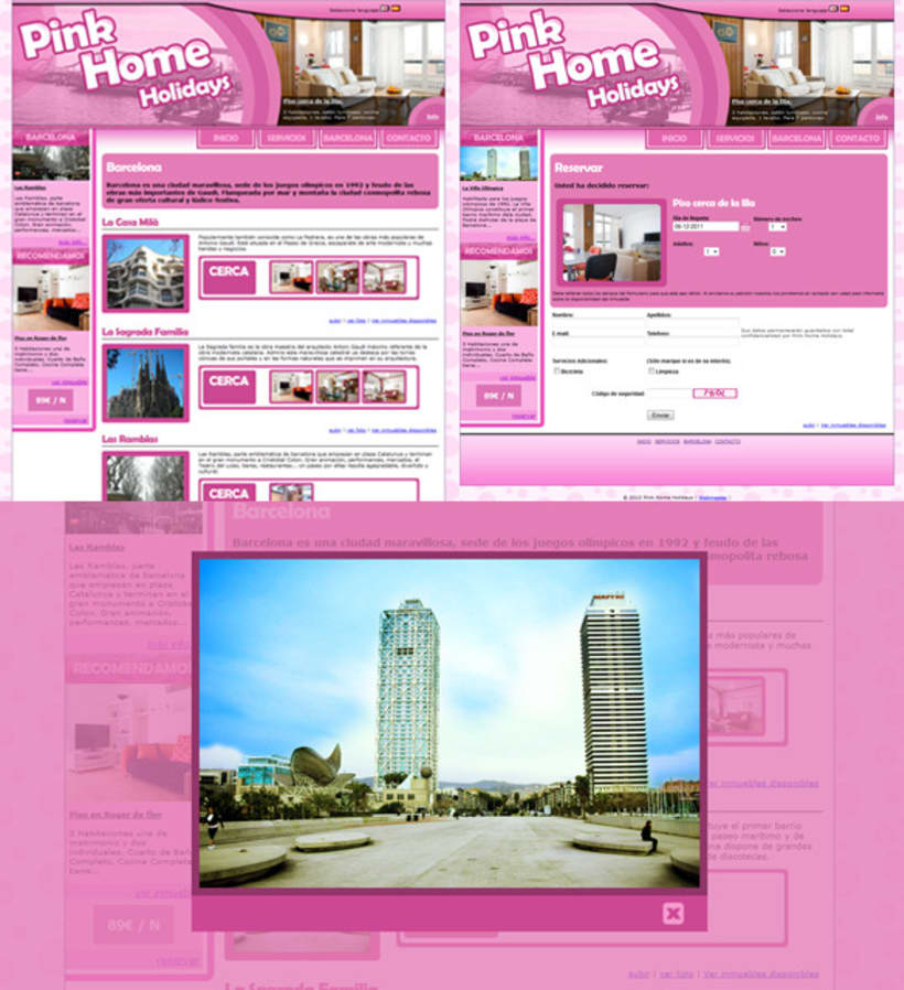 Pink Home Holidays 9