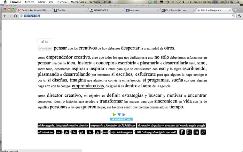 simple & clear web design. 2