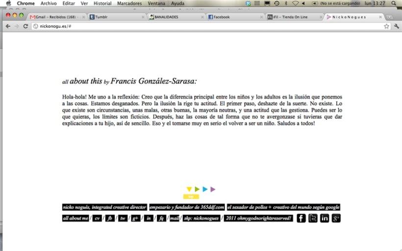 simple & clear web design. 5