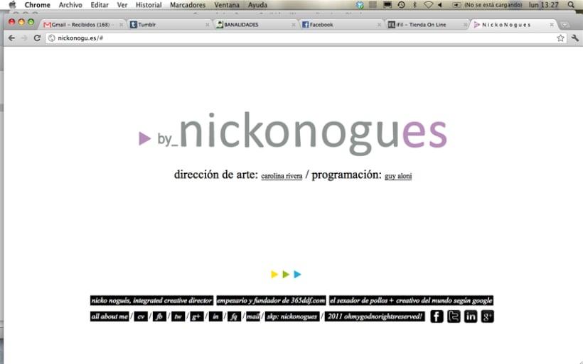 simple & clear web design. 6