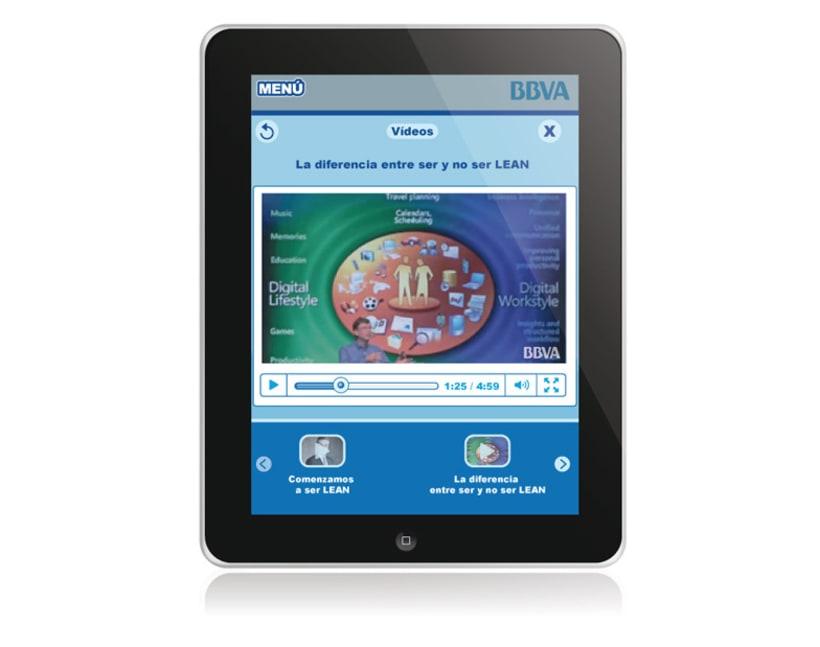 BBVA. Aplicación iPad 7