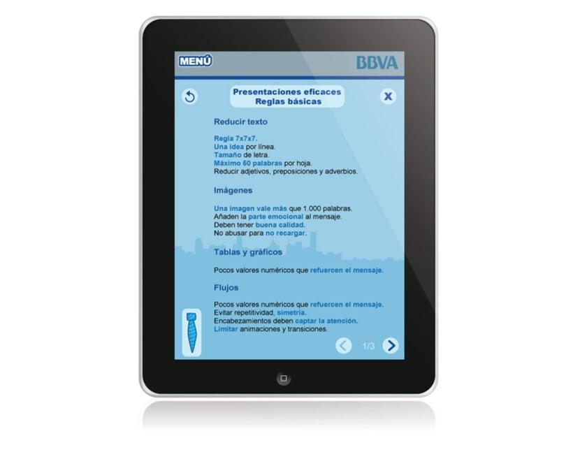 BBVA. Aplicación iPad 5