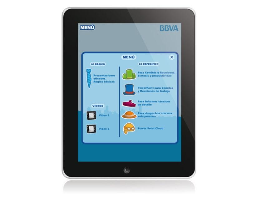 BBVA. Aplicación iPad 4
