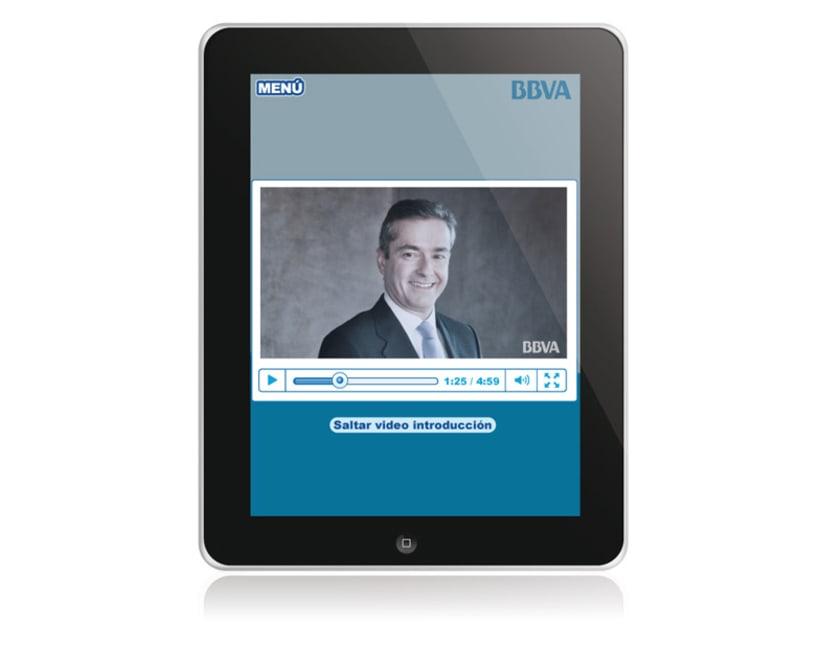 BBVA. Aplicación iPad 3