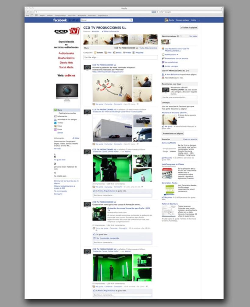 Web CCDtv Producciones 3