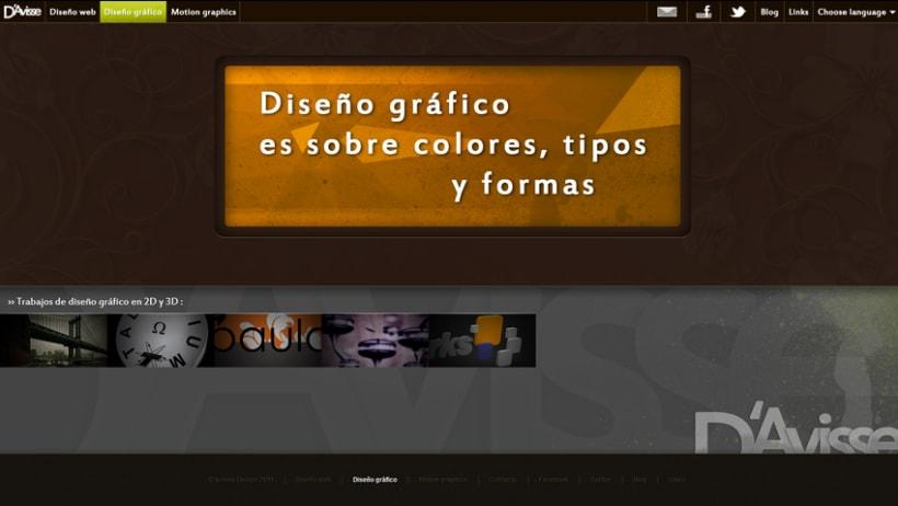 Mi  peronal website 5