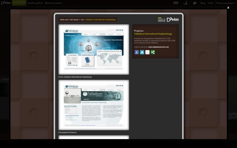 Mi  peronal website 3