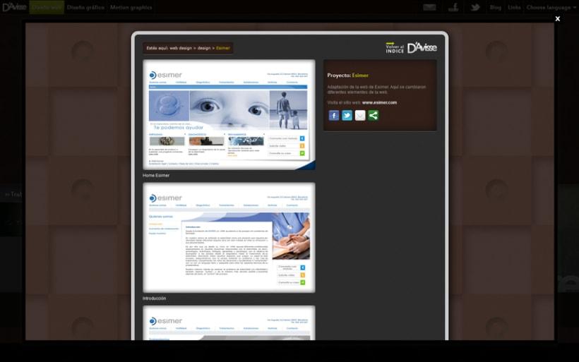 Mi  peronal website 6