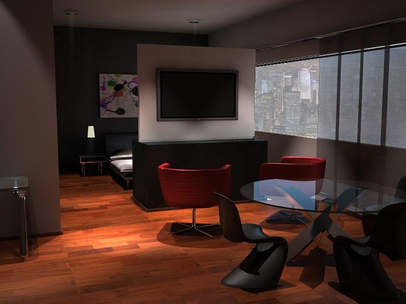 Diseño de una suite en Nueva York 1