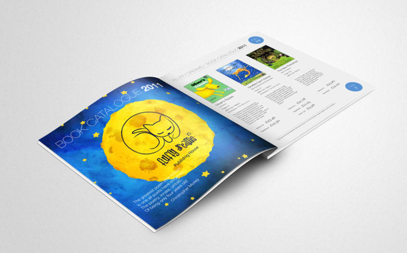 Fluffy Dreams Publishing House corporate identity 4