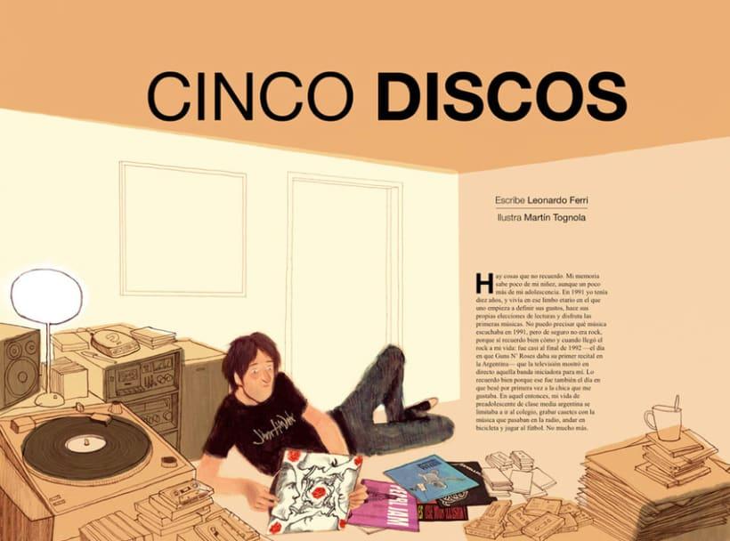 Cinco discos 1