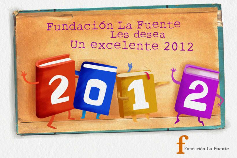 Tarjeta Fin de Año Fundación La Fuente 2