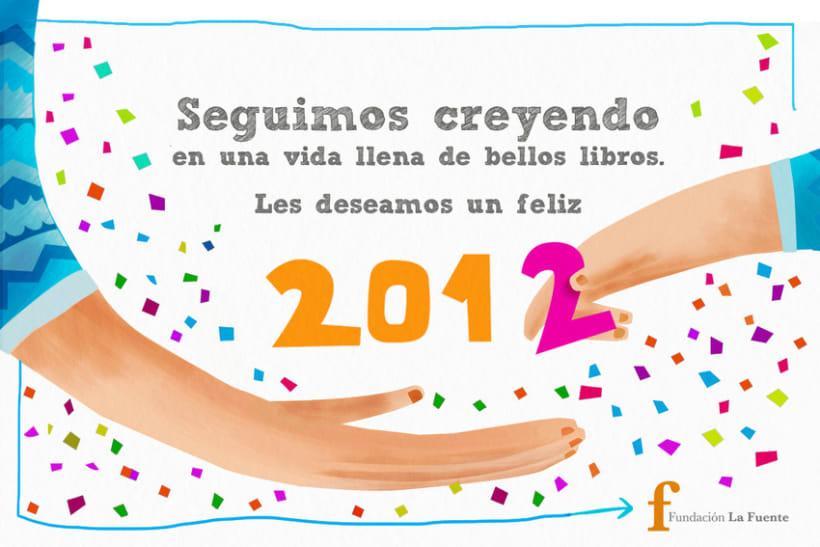 Tarjeta Fin de Año Fundación La Fuente 1