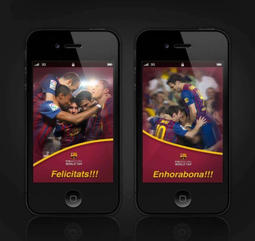 FC Barcelona WorldTap 7