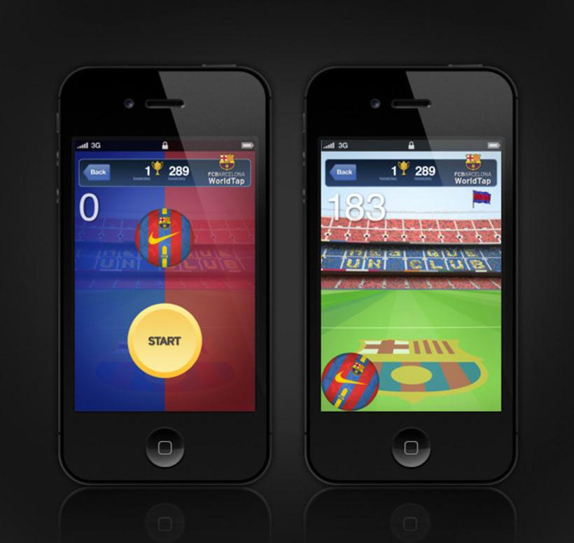 FC Barcelona WorldTap 3