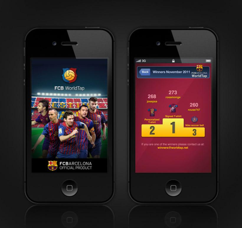 FC Barcelona WorldTap 6