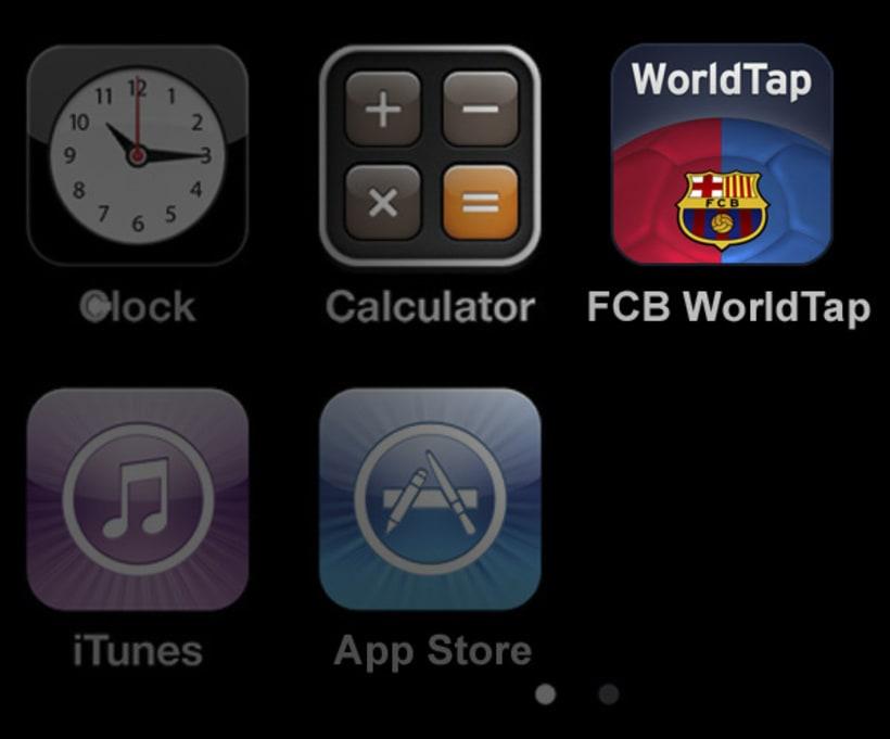FC Barcelona WorldTap 8