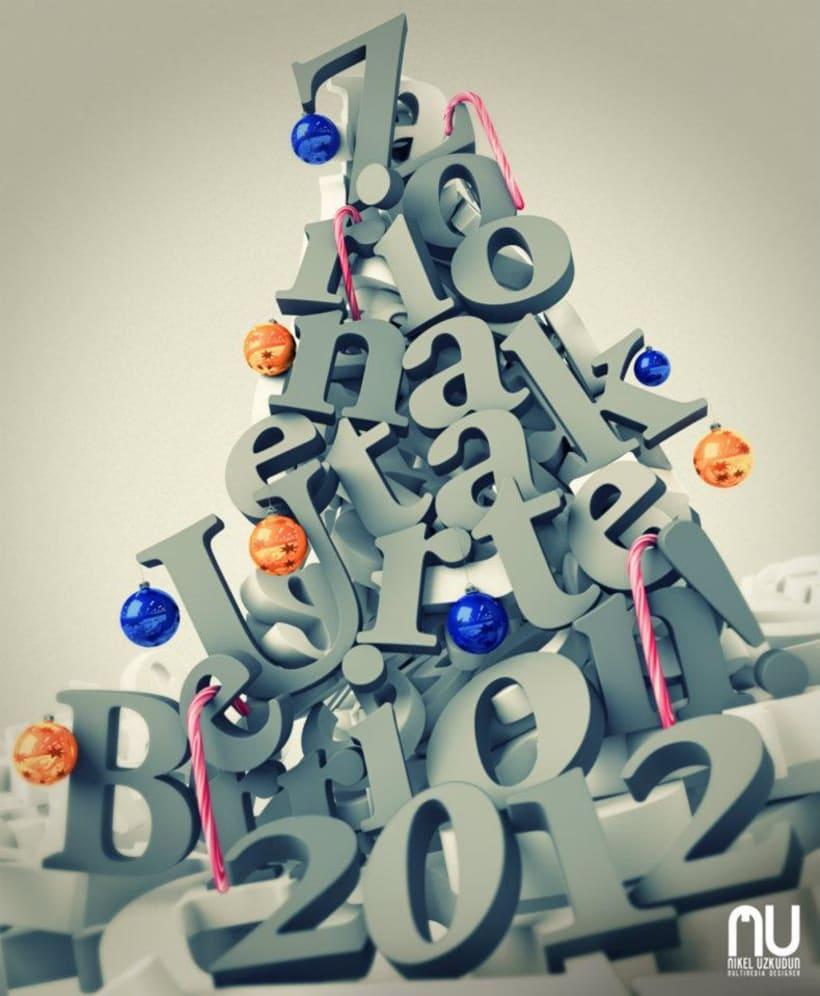 Felicitación Navidad 2011 3