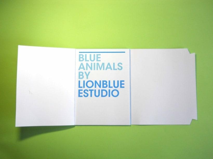 Blue Animals 5