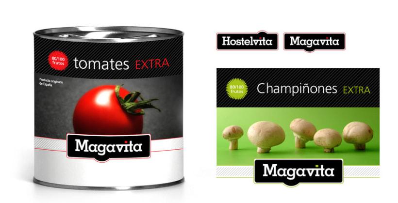 Packaging para Magavita 2