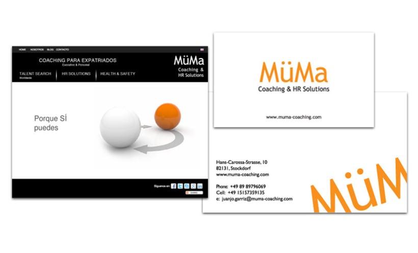 Imagen de marca + web para MüMa 3