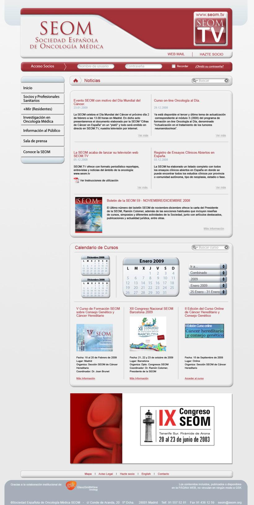 Diseño Web Seom 2