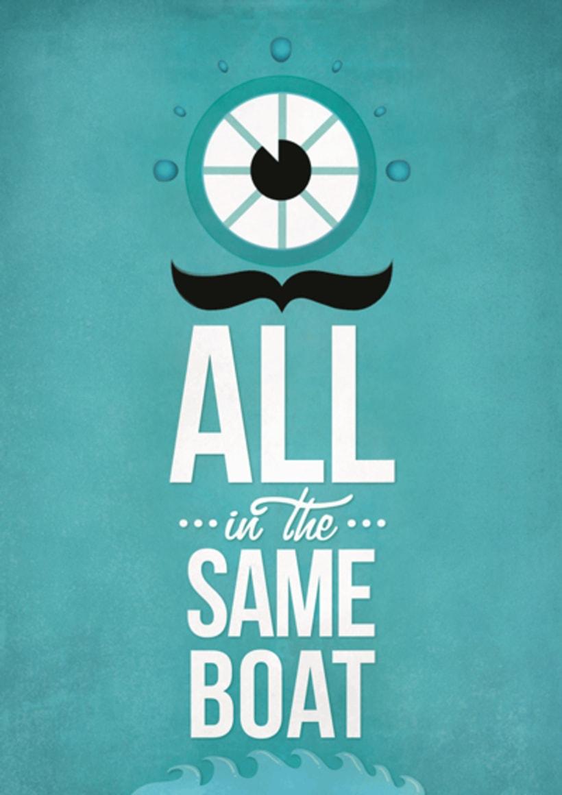 In the same boat 1