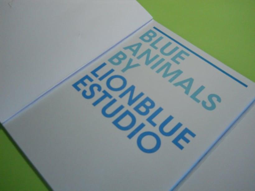Blue Animals 6