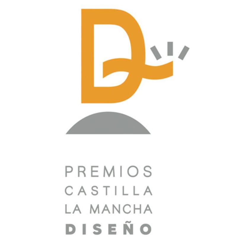 Logotipo Premios Diseño CLM 1