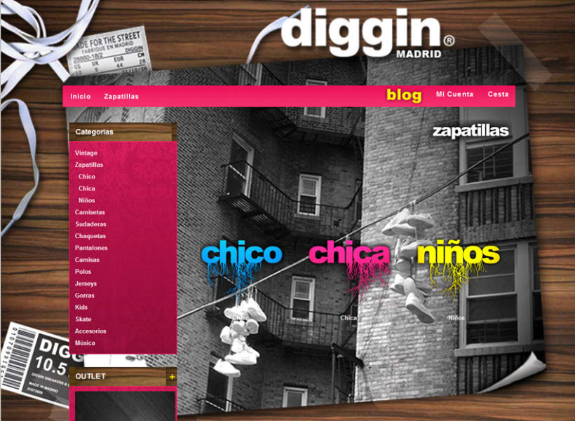 Diggin Online Shop 3