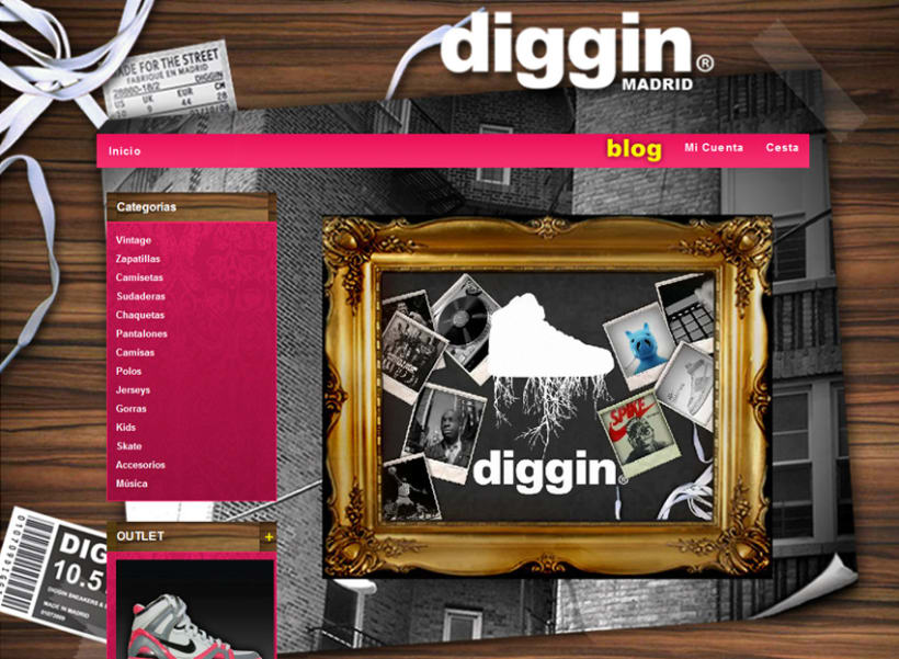 Diggin Online Shop 1