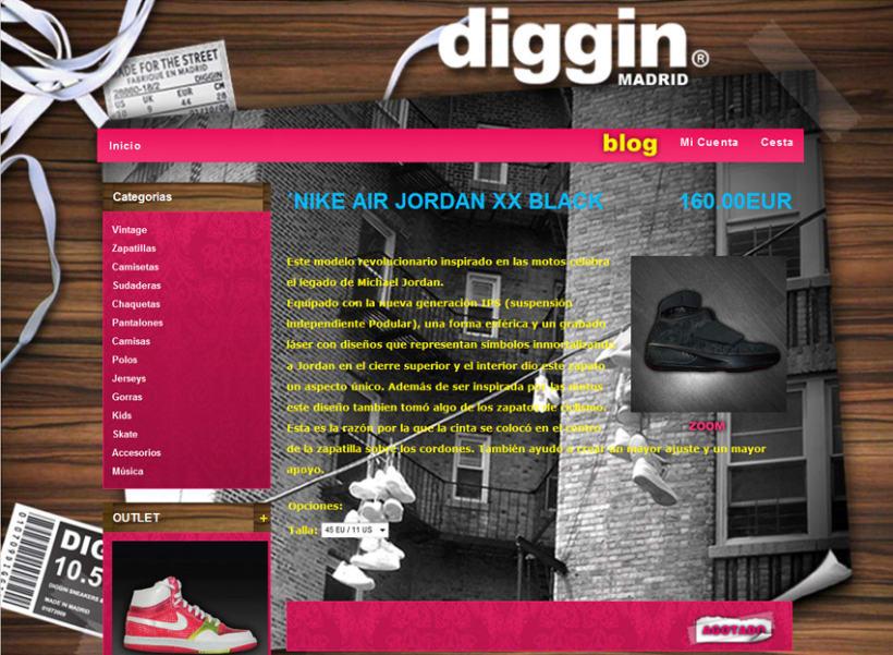 Diggin Online Shop 6