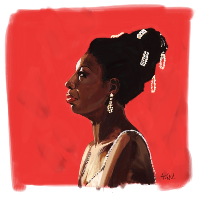 Nina Simone Illustration 1