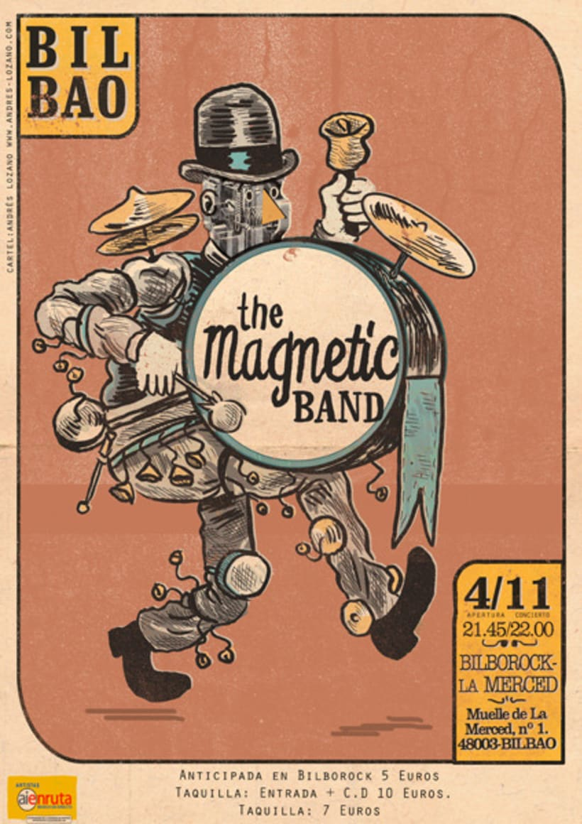 The Magnetic Band Tour 1